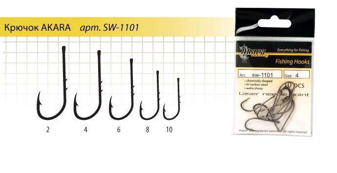 размеры крючков для рыбалки на карася